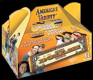 candy bar box