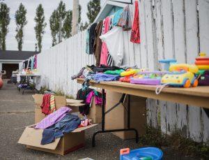 kids garage sale fundraiser