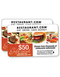 Restaurant gift card fundraisers