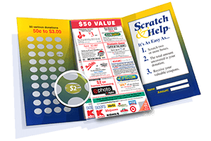scratch card fundraiser
