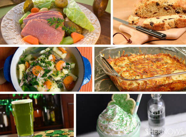 st patricks day fundraiser food and drink examples
