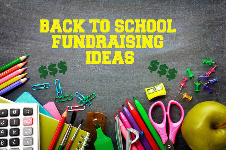 back to school fundraising ideas