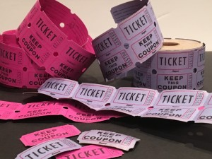 raffle fundraising tickets