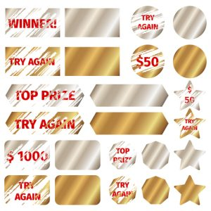 sample scratch card for fundraising