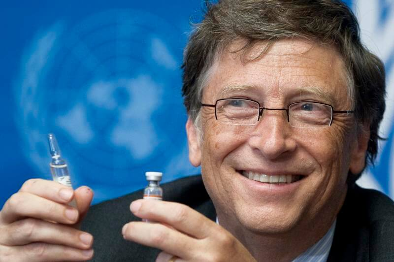 Bill Gates Foundation COVID tracking