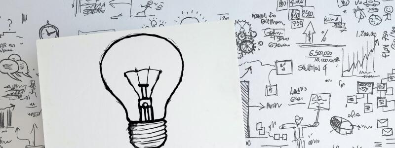 Nonprofit Organizations Llight Bulb White Board